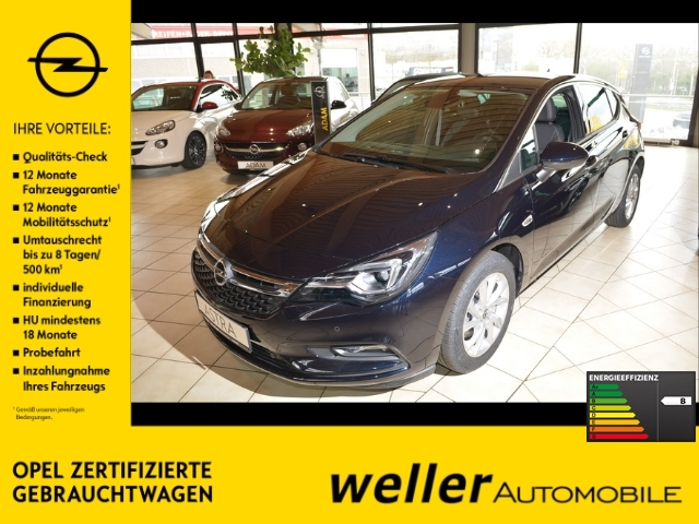 Opel Astra K 1.6D Innovation - Navi Matrix-LED 2xKamera