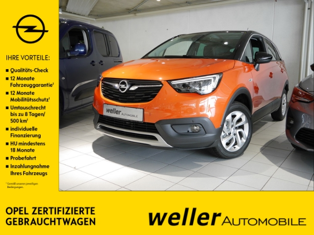 Opel Crossland X INNOVATION 1.2 Klimaautom Temp PDC Rüc