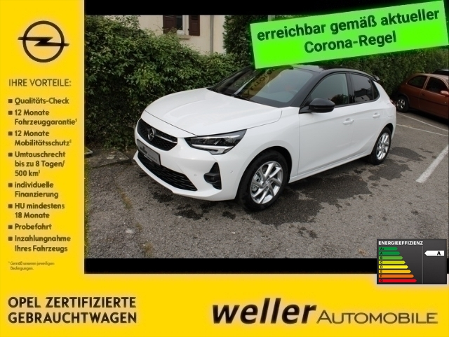 Opel Corsa F GS Line 1.2 96KW AT8 LED Fernlichtass. LED