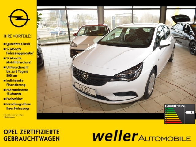 Opel Astra K 1.0 Selection Klima Bluetooth Euro6D-Temp