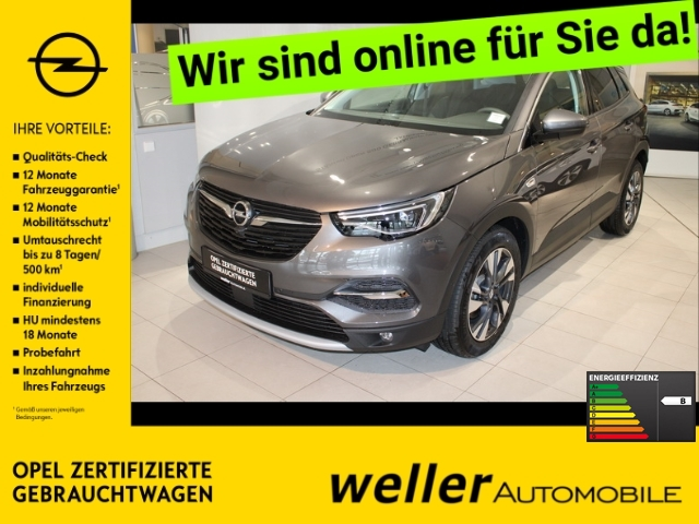 Opel Grandland X 1.6 Turbo Innovation - Navi 360Grad-Ka
