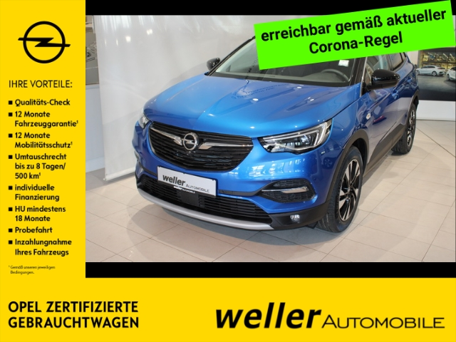 Opel Grandland X 1.6 Turbo Innovation Navi DAB 360Grad-