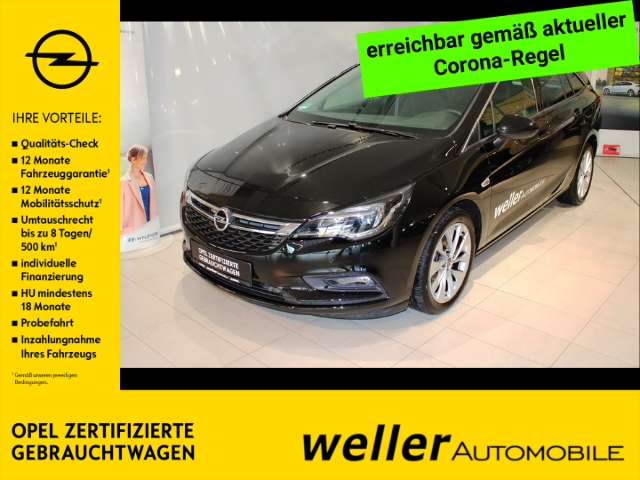 Opel Astra K 1.4 TURBO Sports Tourer Innovation Navi 2x