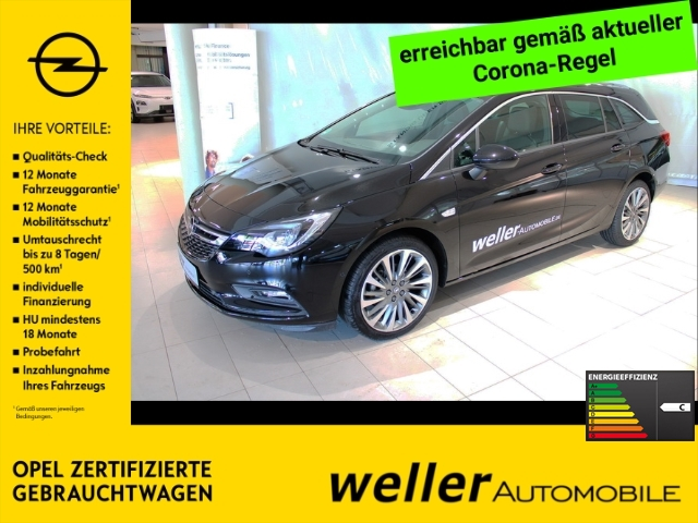 Opel Astra K 1.4 Sports Tourer ULTIMATE LED Kamera Park