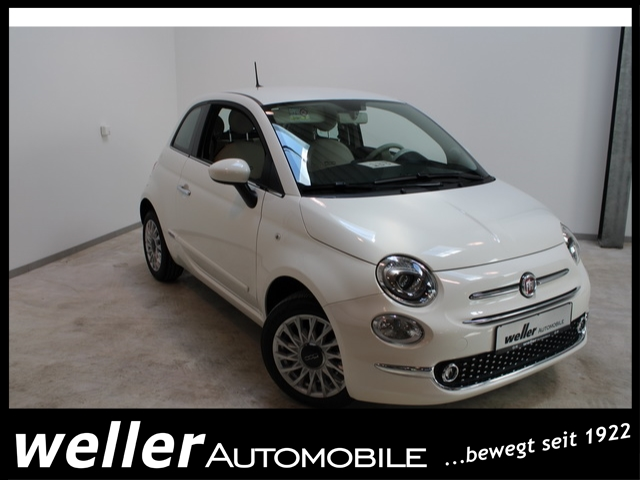 Fiat 500 Lounge 1.2 PDC, Apple Carplay, Klimaanlage,