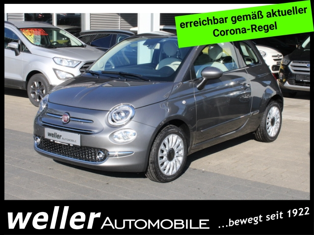 Fiat 500 1.2l 69PS LOUNGE Bluetooth Touchscreen Parksen