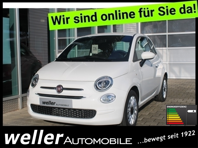 Fiat 500 Serie 8 1.0 Hybrid GSE ''Lounge'' Bluetooth Kl