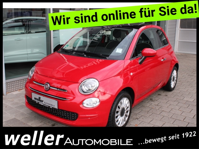 Fiat 500 1.2 LOUNGE U-Connect Klima Parksensoren Blueto
