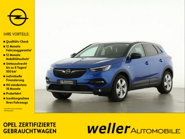 Opel Grandland X 1.2 Turbo Innovation Panoramadach Rück