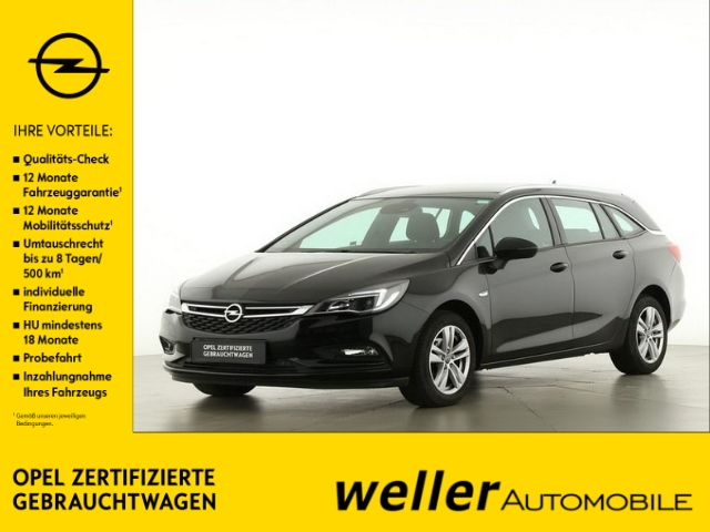 Opel Astra K 1.4 TURBO Sports Tourer DYNAMIC Navi Rückf