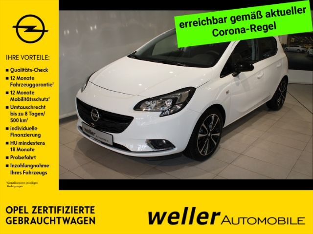 Opel Corsa E 1.4 Color Edition IntelliLink Parksensoren