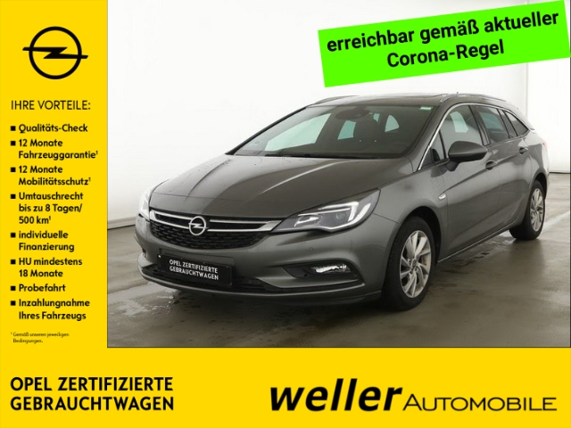 Opel Astra K 1.4 TURBO Sports Tourer Innovation Schiebe