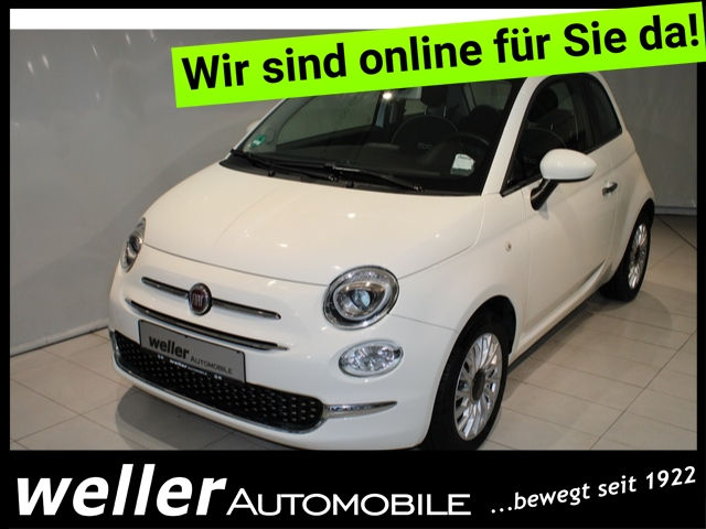 Fiat 500 1.2 LOUNGE U-CONNECT Panoramadach Parksensoren