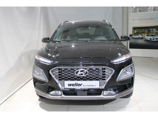 Hyundai Kona Style 4WD Farbappl. RED/ Navip./ Glasschiebed