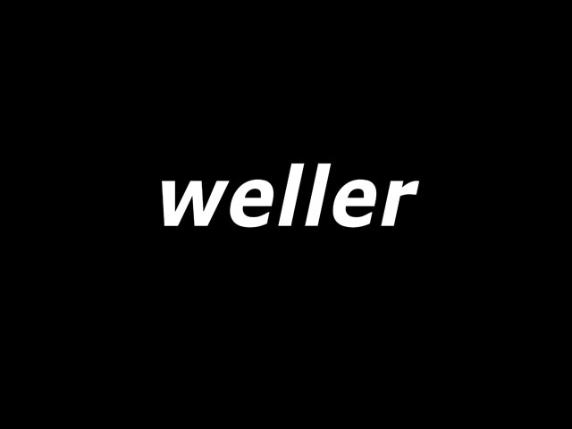Weller Chronik