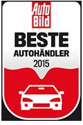 Bester Autohändler - Siegel