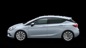 Opel Astra Limousine Hellblau