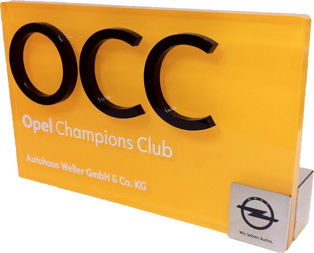 Mitglied Opel Champions Club