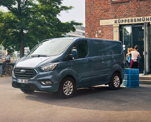 Ford Transit Custom blau