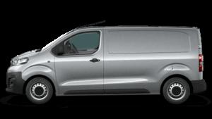Opel Vivaro Kastenwagen auf transparentem Hintergrund
