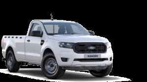 Ford Ranger auf transparentem Hintergrund