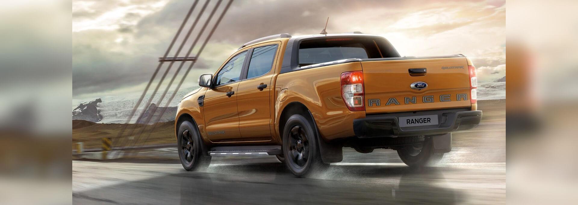 Ford Ranger Außenansicht hinten