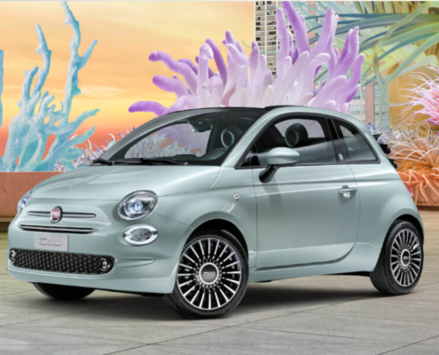 Fiat 500 Farbe Mint