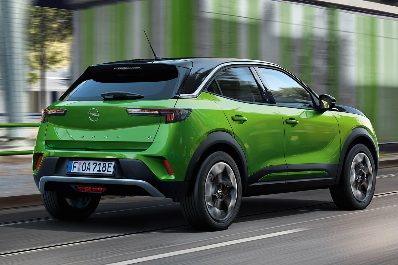 Opel Mokka Elektro grün