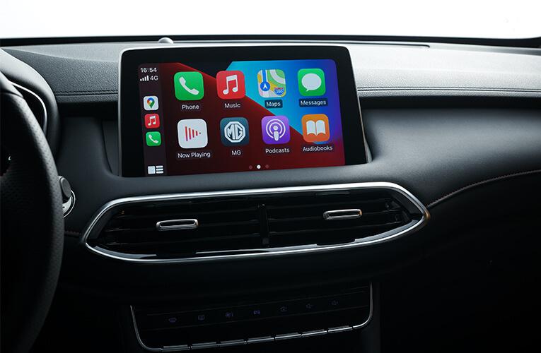 MG EHS Apple Carplay Android Auto