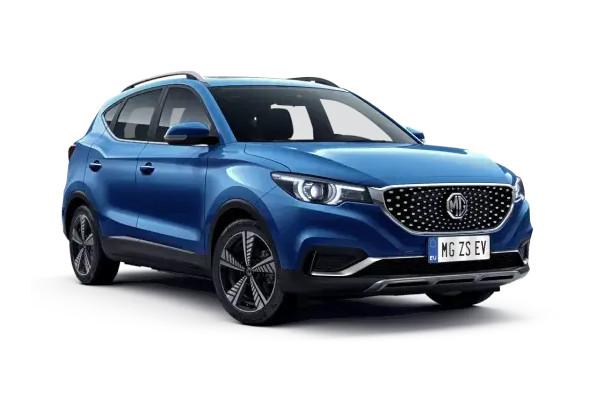 MG ZS EV in Farbe blau